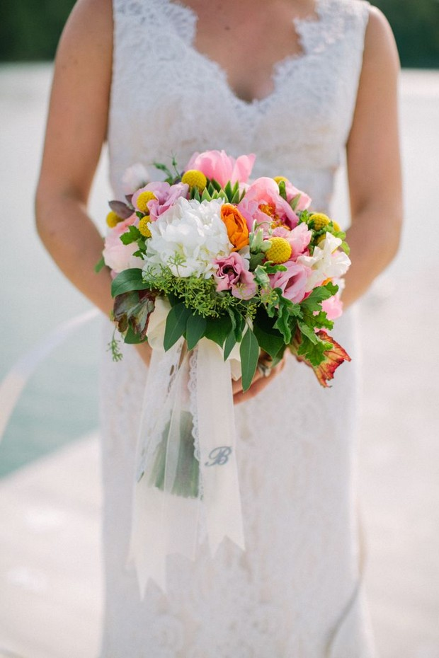 colourful_billy_button_wedding_bouquet_spring